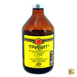 тривитамин инструкция по применению для поросят