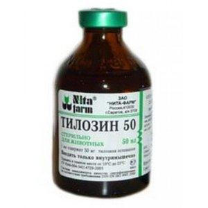 Инструкция тилозин 50