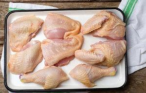 Как разделать курицу на порции